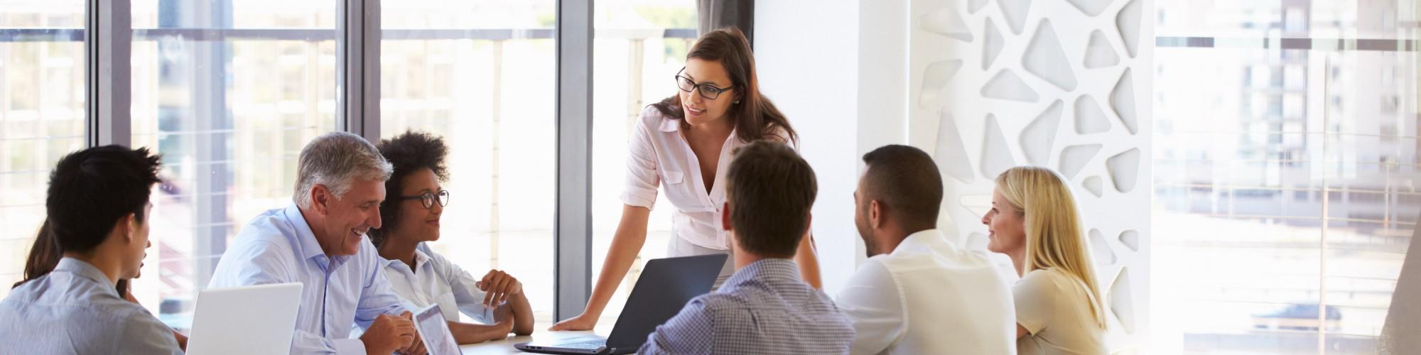 Фасилитиране на бизнес срещи и групи